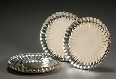 plates set of 12 by asahi shoten co