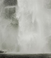 waterfall by min byung hun