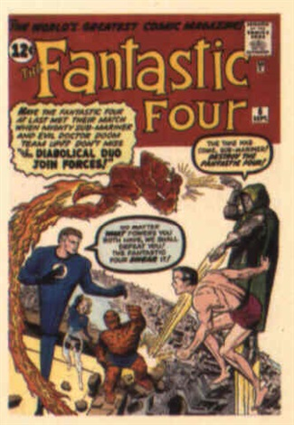 fantastic four no6 by dick ayers