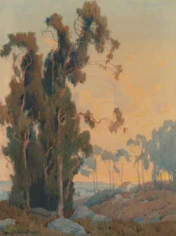 california landscape by marion kavanaugh wachtel