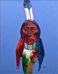 sitting bull by john nieto