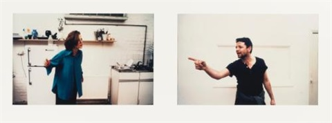 travesty of a mockery diptych by sam taylor wood