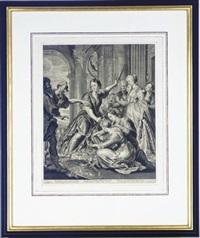 untitled (+ 4 others; 5 works) by cornelis visscher