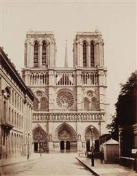 église de notre-dame, paris by achille quinet
