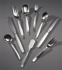 swedish modern flatware service (set of 236) by allan adler
