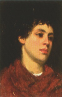portrait of an italian boy by charles frederick ulrich
