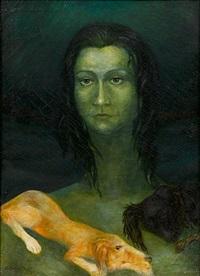 self portrait by tatiana gabriliants