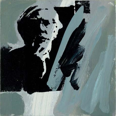 andy warhol self portrait by richard pettibone