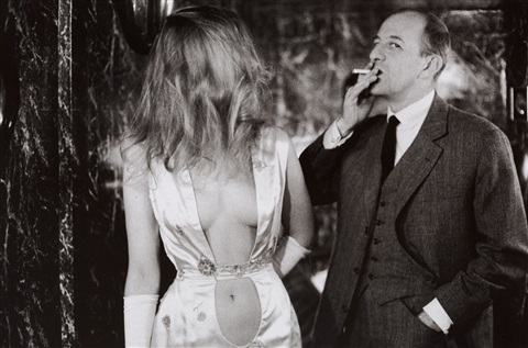dew lewis and alain bernardin, paris by frank horvat