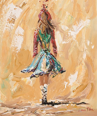 irish dancer by lorna millar