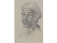 portrait of johannes by gregoire johannes boonzaier