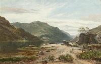 highland loch by william glover