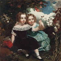 the young lepidopterists by james sant
