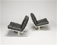 caravelle lounge chairs (pair) by paul leidersdorff