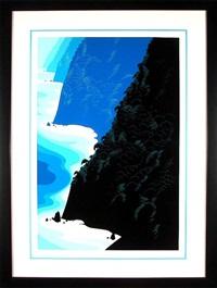 blue big sur by eyvind earle