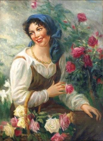 la jolie fleuriste by giuseppe maldarelli