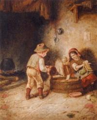 spielende kinder by jérome-martin langlois