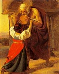 enken fra zarepta og profeten elias by detlev konrad blunck