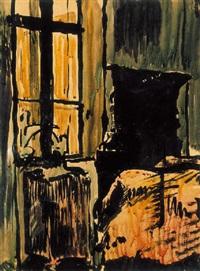 enteriõr (interior) by józsef nemes-lampérth