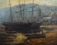 ship in port by charles david jones bryant
