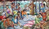 pasar ikan by dadan gandara