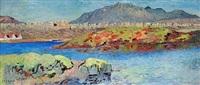thingvellir, iceland by johannes kjarval