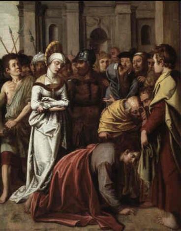 Image Adultère le christ et la femme adultèreotto octavius van veen on artnet