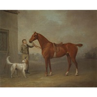 mr. yarburgh's chestnut hunter