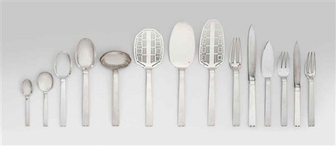 monaco cutlery model no 129 set of 12 by jean emile puiforcat