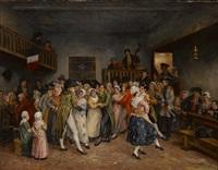 un bal sous le directoire by léon marie constant dansaert