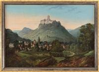 zamek na wzgórzu by august achilles