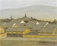 village ikaruga (yumedono) by tadashi moriya