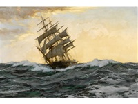 bird of dawn - the sir lancelot by montague dawson