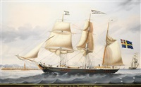 the three masted barque lowisa by michele renault