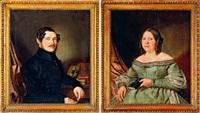 házaspár portréja (pair) by adolf kosárek