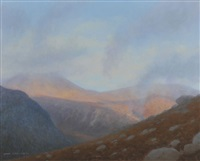 low cloud, the mournes by carol graham