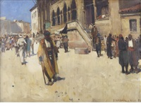 stamboul by sir frank brangwyn