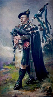 bagpiper by lancelot roberts