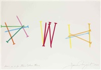 drawing #17 for time colors time by james rosenquist