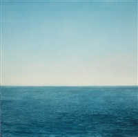 ocean (blue and blue) no.6 by chris langlois