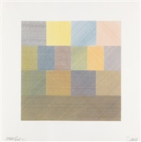 composite series (set of 5) by sol lewitt