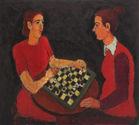chess players by ion pacea