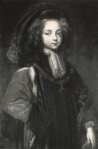 portrait of l,opold-philippe-charles-joseph, 4th duc d'arenberg by joseph vivien