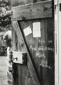 mon ami henri merci, 1972 by andré kertész