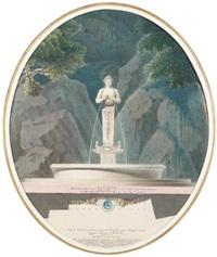 allégorie de la saône (plan) by pierre marnotte