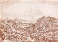 vue de caprarola avec le palais farnèse by jean-robert ango