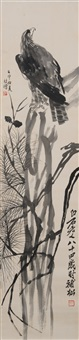 eagle by qi baishi and xu beihong