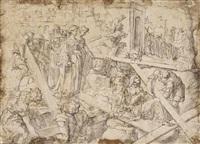 saint helena discovering the cross by jan van scorel