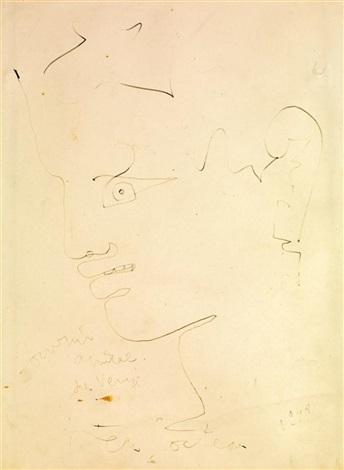 profil dhomme by jean cocteau