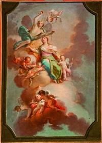 allegoria della primavera by fedele fischetti